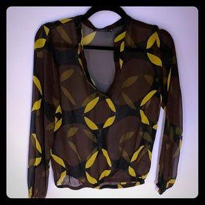 Beautiful brown blouse